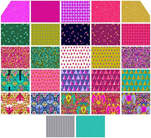 Alison Glass Road Trip Fabric Complete Collection One Yard Bundle