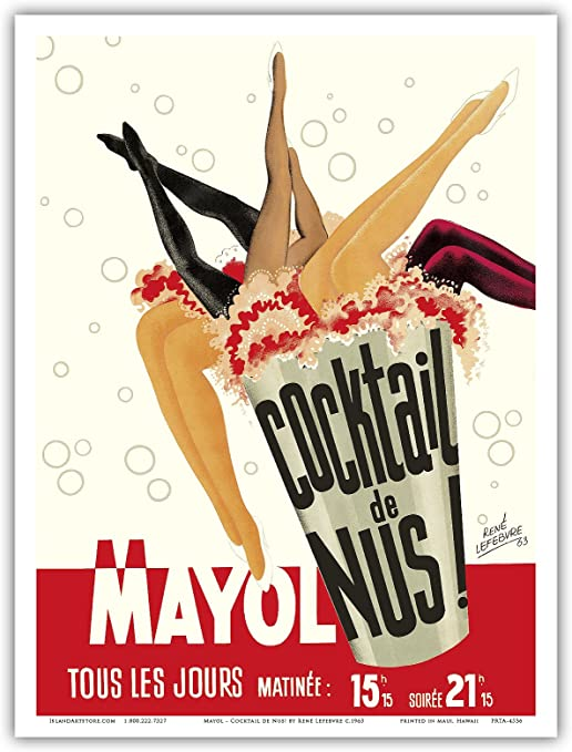 Wall Art Poster Cabaret Home Decor Print Gift