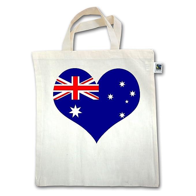 Shirtracer Länder - Herz Australien - Unisize - Natural - XT500 ...