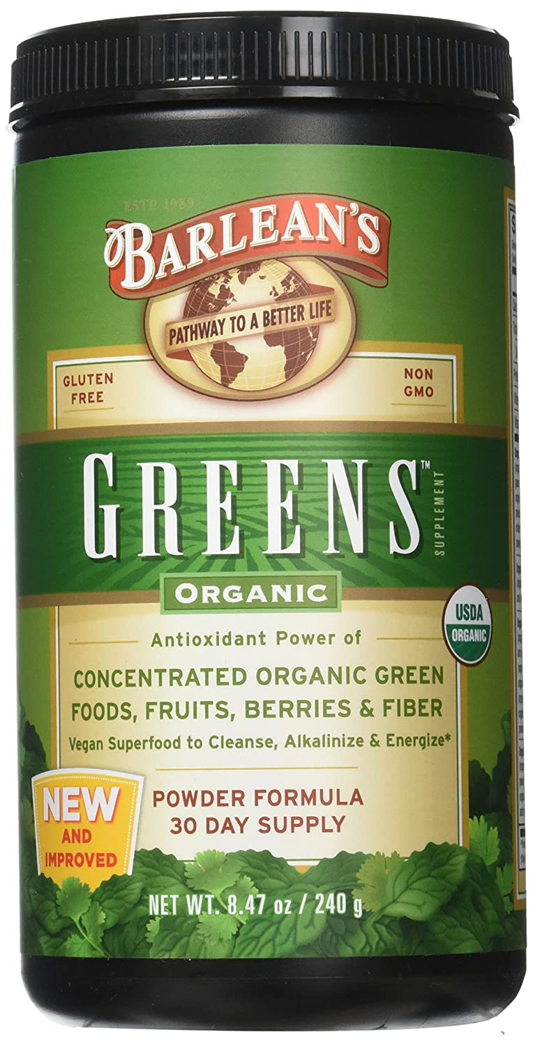 Barlean s Greens Powder 8.46 Ounce