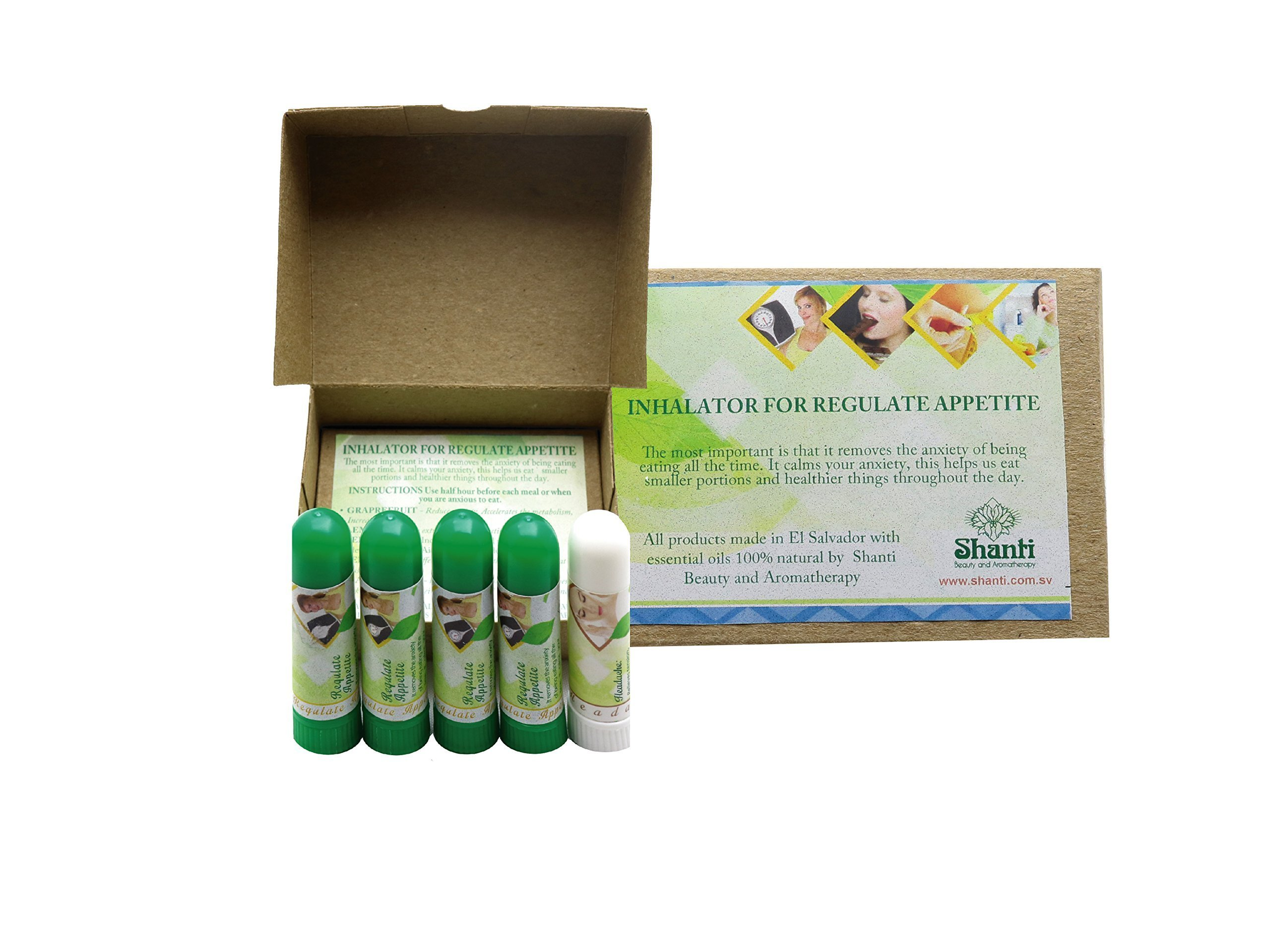 Appetite Control Inhaler 4 units pack FREE one inhaler of Head Clear