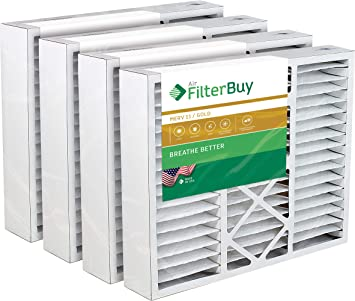 FC35A1076 Compatible Pleated AC Furnace Air Filters FilterBuy 24x24x5 Grille Honeywell FC40R1078 MERV 8, AFB Silver 1 Pack.