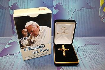 Rosario Del Papa + Cruz de Jerusalem (electronico) (Spanish Edition)