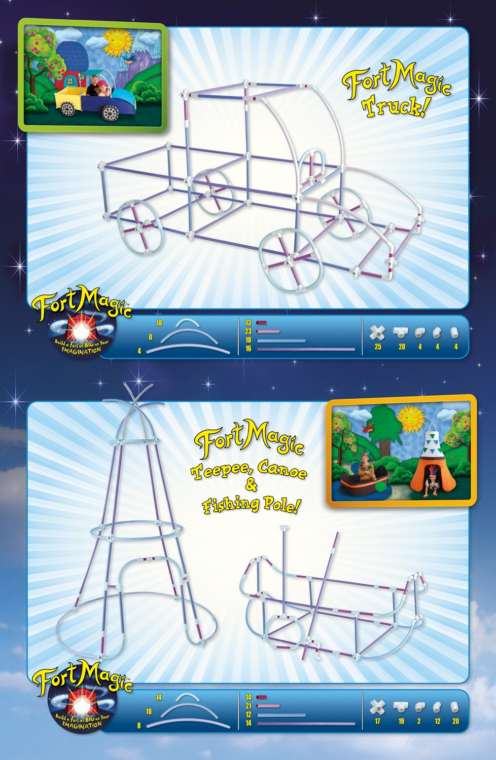 Fort Magic: Fort Building & Construction Toy Kit by Fort Magic (Image #8)