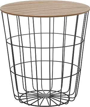 Meinposten Design Beistelltisch Sofatisch Tisch Mit Stauraum O 39 Cm
