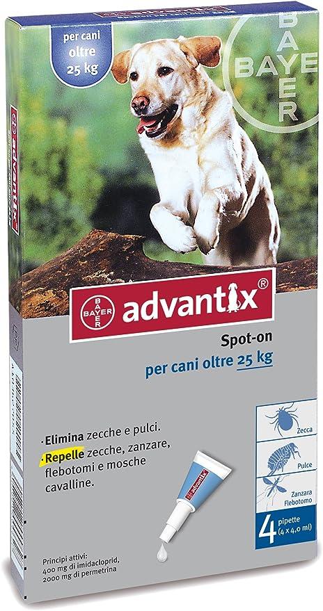 Multicolore advantix antiparassitari Taglia Unica