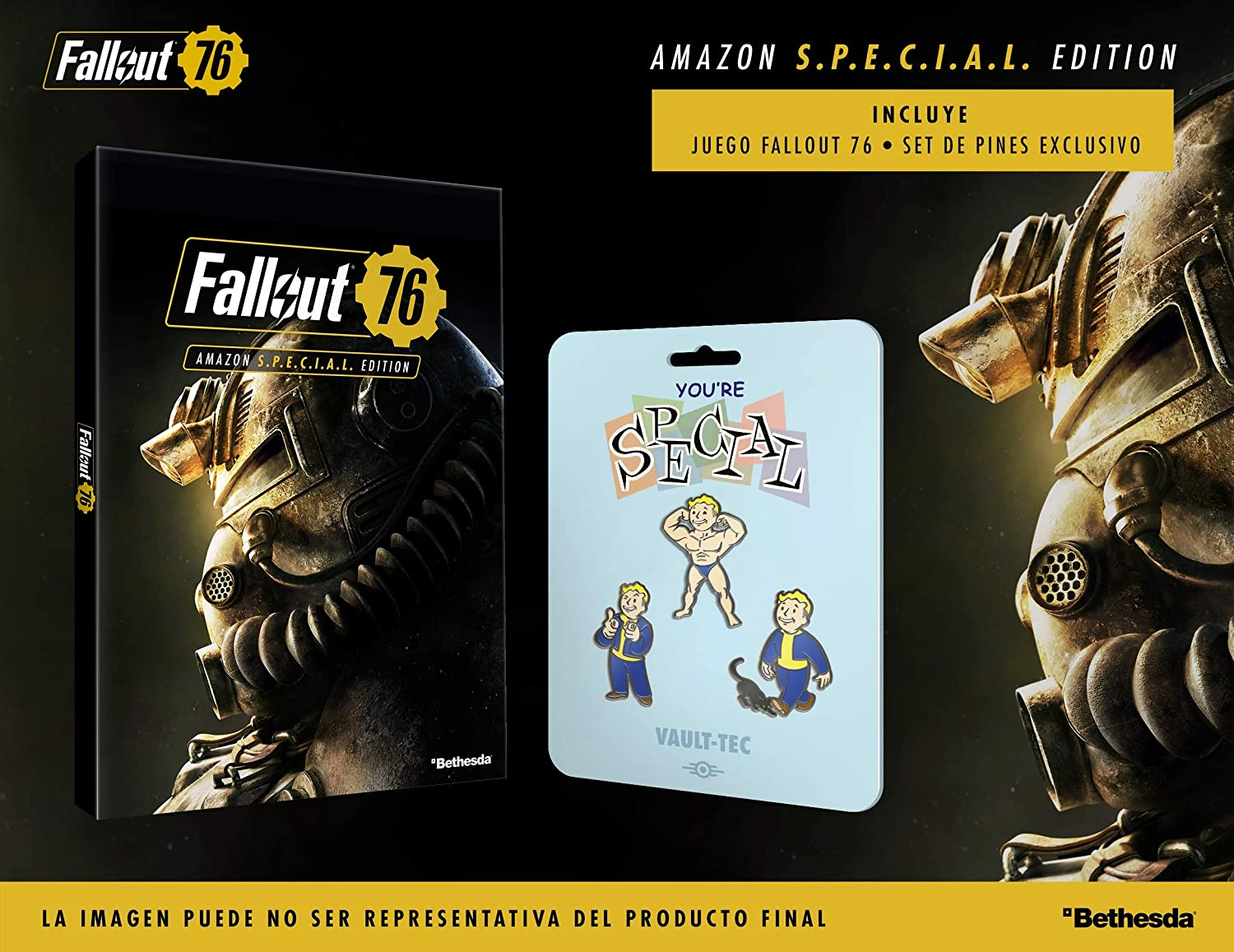 Fallout 76 Amazon S.*.*.C.*.*.L. Edition (Edición Exclusiva Amazon): Amazon.es: Videojuegos