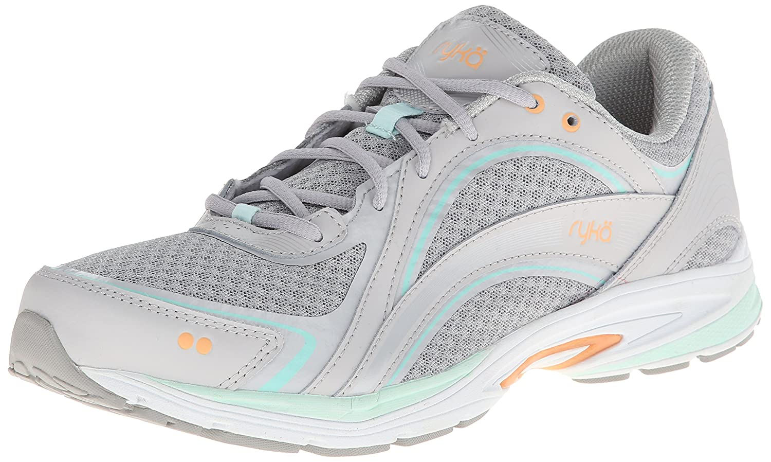 Ryka レディース SKY WALK B00HNDB04M 7.5 B(M) US|Chrome Silver/Cool Mist Grey/Mint Ice Chrome Silver/Cool Mist Grey/Mint Ice 7.5 B(M) US