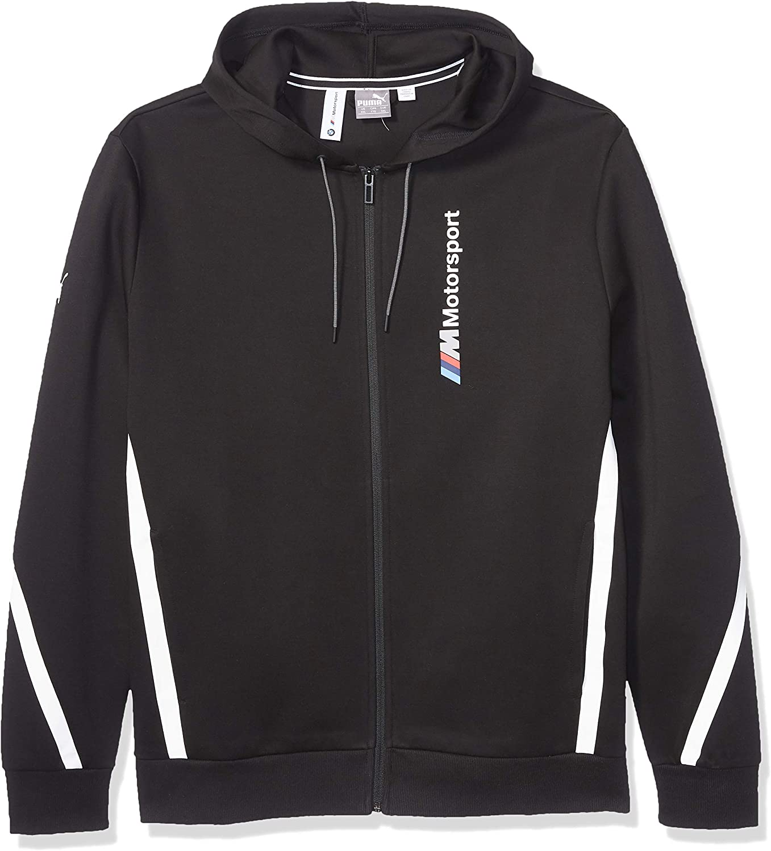 PUMA Men's Standard BMW Motorsport Hooded Sweat Jacket