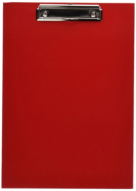 Pagna - Supporto per fogli A4, a clip, rosso 4013951000162