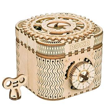 Kreative Diy 3d Perpetual Kalender Holz Mechanische Modell Puzzle Spiel Montage Spielzeug Geschenk Office & School Supplies