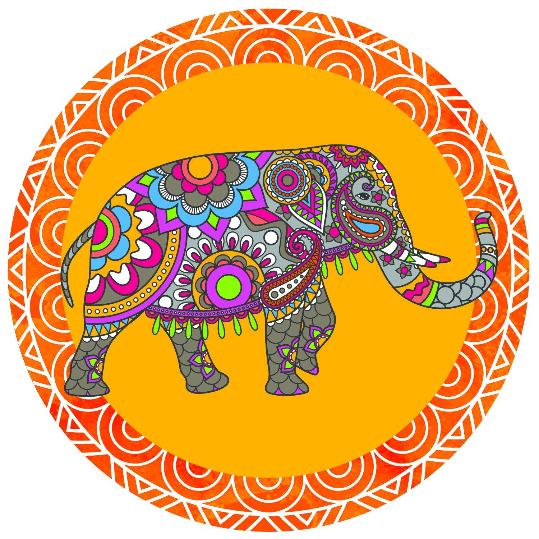 網戸ドアマグネット–ひねってカチッとロック–人やペットが網戸にぶつかるのを防止 unknown B077CZDHSC Indian Elephant Indian Elephant