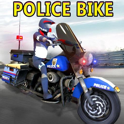 Police Motorbike Driving Sim 3D - Police Bike 2018