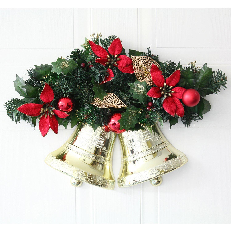 CHRISTMAS SILK FLORAL ARRANGEMENT #3010