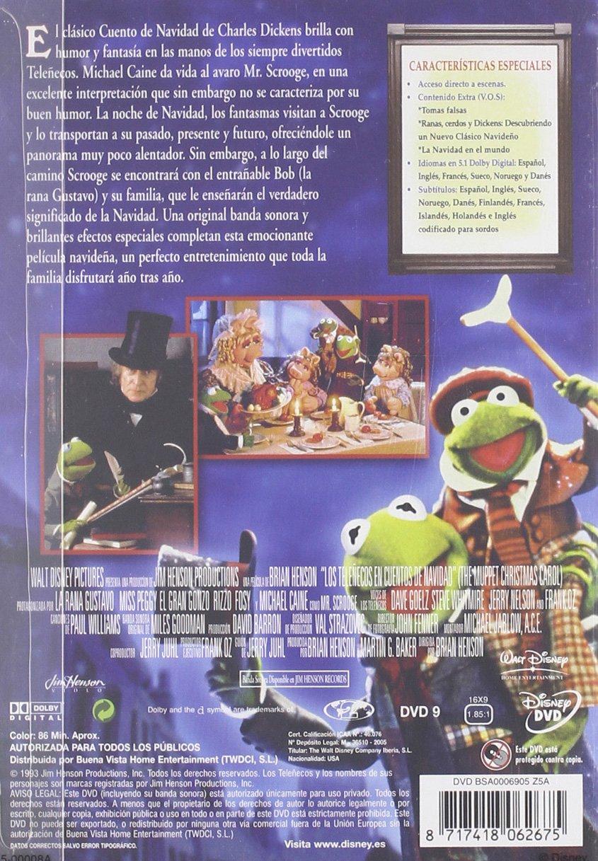 Los Teleñecos En Cuentos De Navidad [DVD]: Amazon.es: La ...