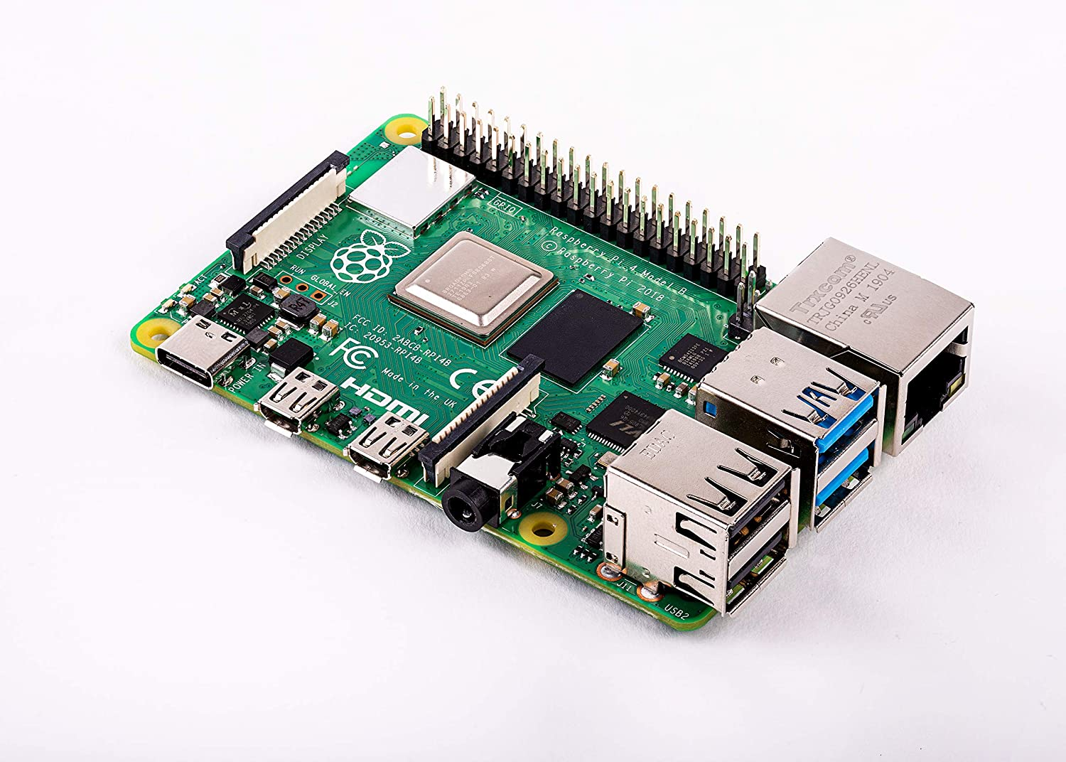 Vilros Raspberry Pi 4 Basic Kit with Fan Cooled Case 4GB