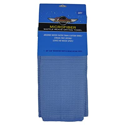 Detailer's Preference Eurow Microfiber Waffle Weave Large Drying Towel 26 in X 36 in: Automotive