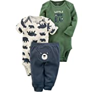 Carter's Baby Boys' 3 Piece Baby Bear Little Character Set 6 Months
