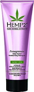 product image for Hempz Moisturizing Shampoo, Pearl Pink, Pomegranate, 9 Fluid Ounce