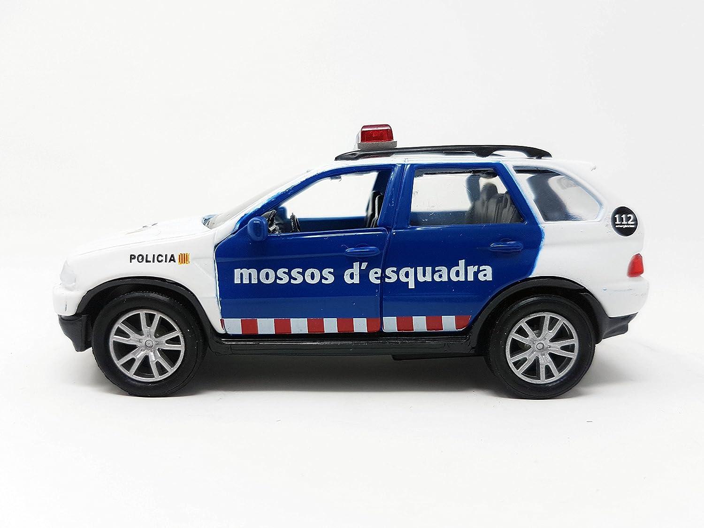 PLAYJOCS Coche de Mossos GT-3538: Amazon.es: Juguetes y juegos