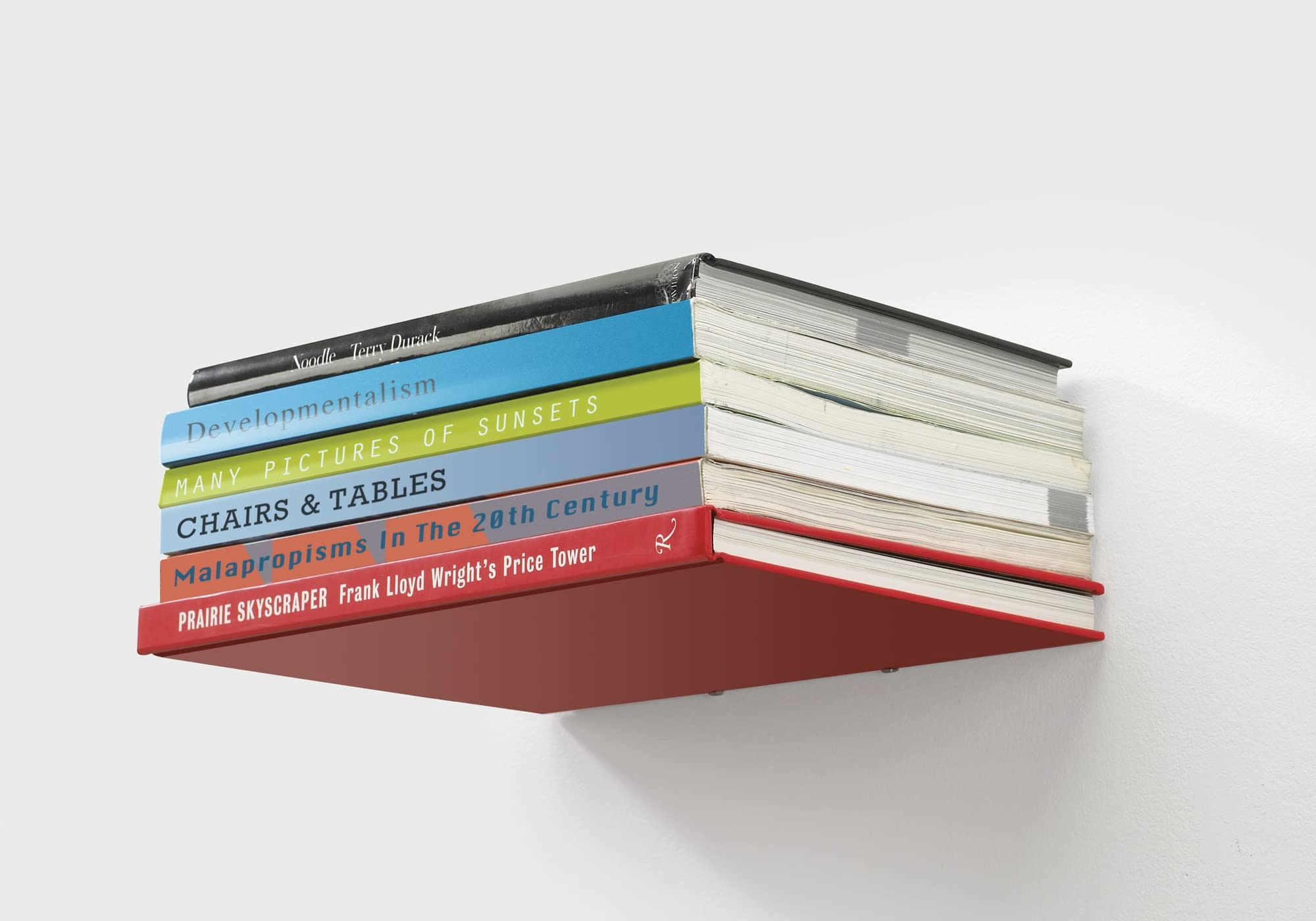 "Umbra Conceal ""Invisible"" Floating Bookshelf"