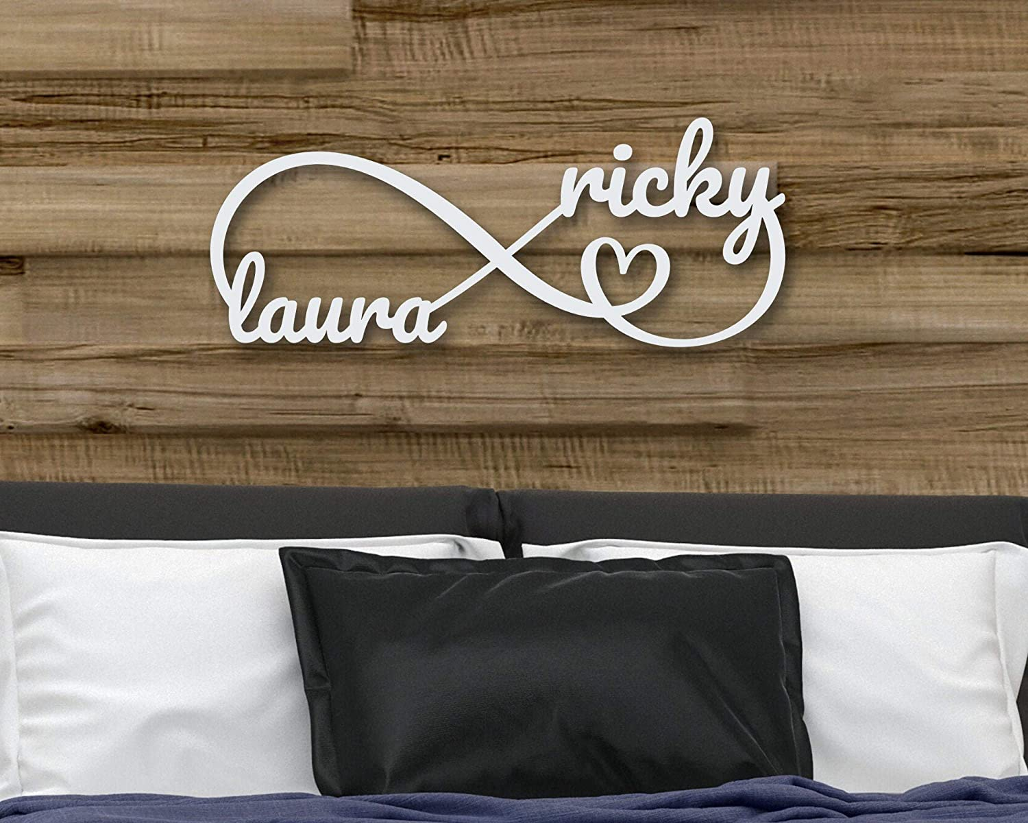 Personalized Gift Valentines Day Decor Valentines Day Gift Personalized Family Name Metal Sign Personalized Valentine Gift for Her