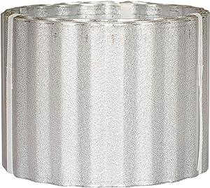 Corrugated Metal Landscape Edging (6in W x 10ft L, Galvalume)