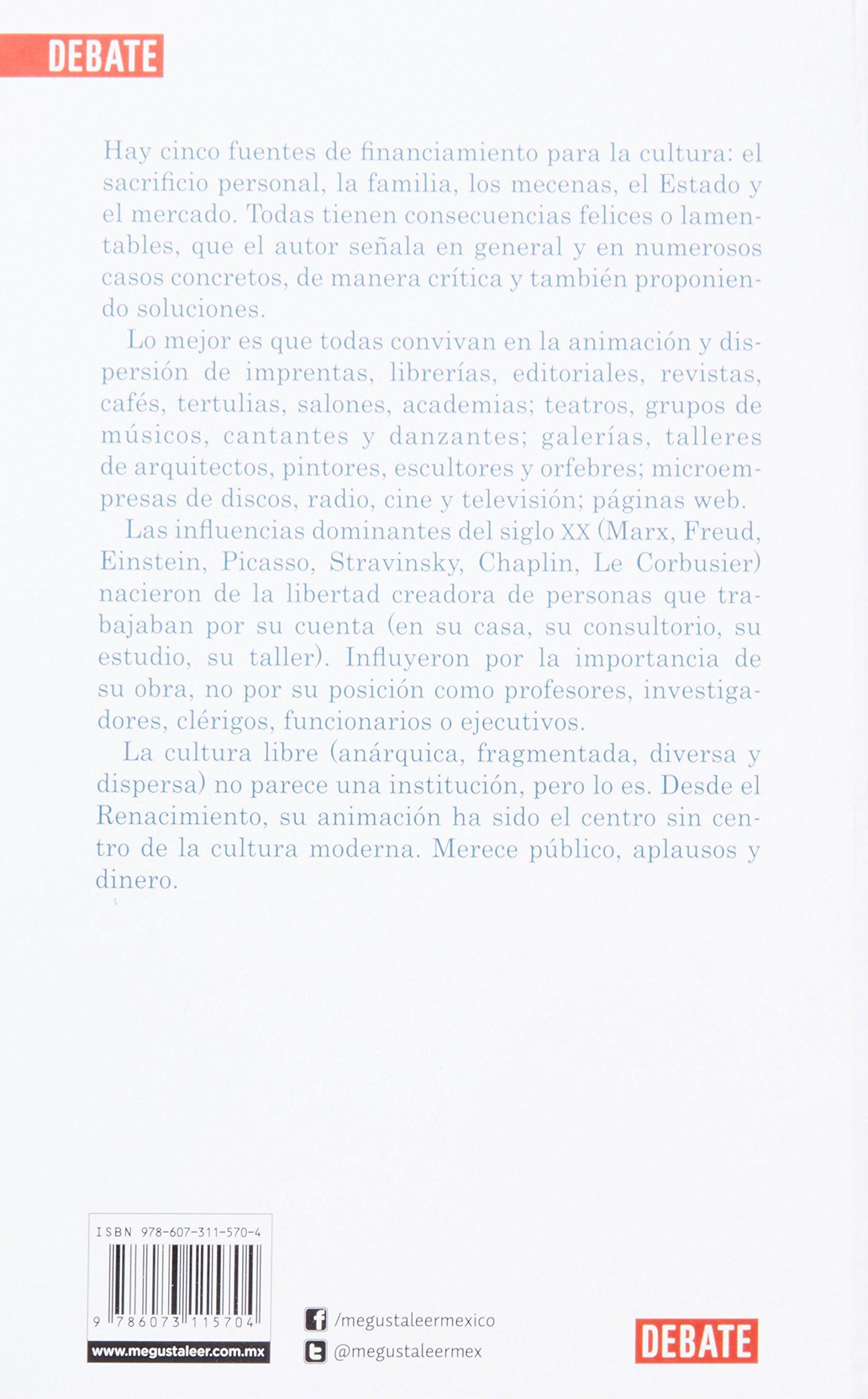 Dinero para la cultura (Spanish Edition): Gabriel Zaid: 9786073115704: Amazon.com: Books