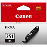 Canon CLI-251 Black Ink Tank Compatible to MG6320 , IP7220 & MG5420, MX922, MG5520, MG6420, MG7120, iX6820, iP8720, MG7520, M