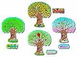 Carson Dellosa Four Seasons Trees Bulletin Board