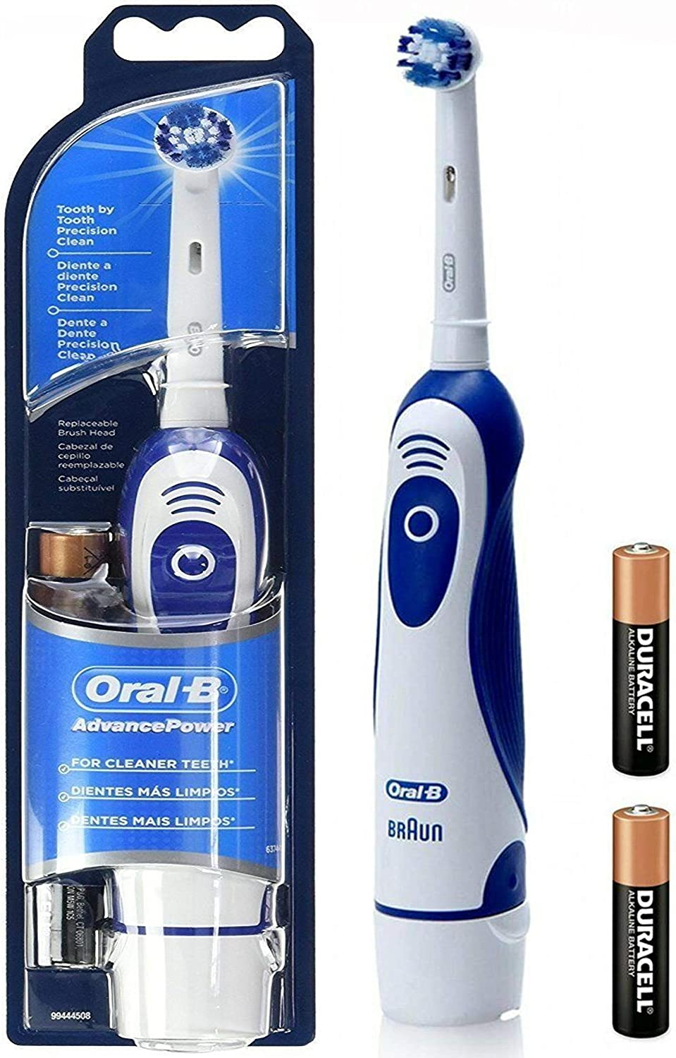 Braun Oral B Advanced Power 400 Battery Operated Toothbrush (Colour Varies)
