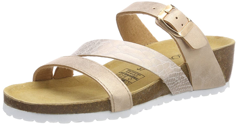 Supersoft Damen 274 690 Pantoffeln Gold (Rosegold)