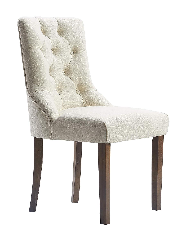 Amazon com finch chr20066a elmhurst dining chair cream chairs