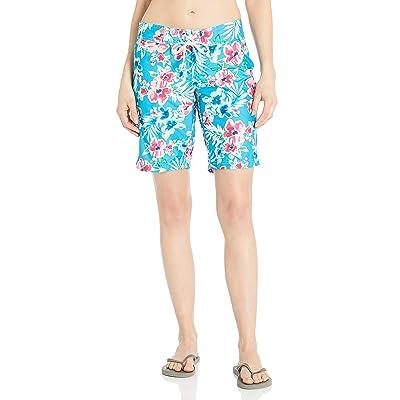Kanu Surf Women's Oceanside UPF 50+ Active Swim Board Short (Reg & Plus Sizes) at Women's Clothing store
