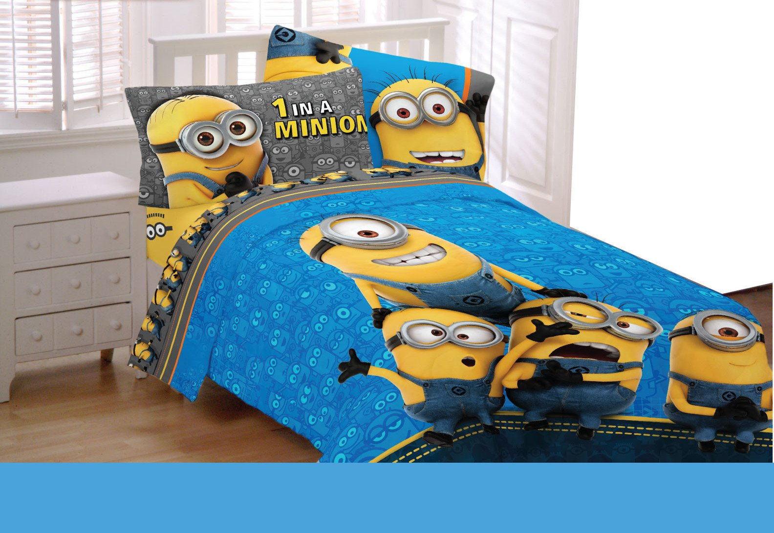 Despicable Me Full Size Sheet Set ( Minions)