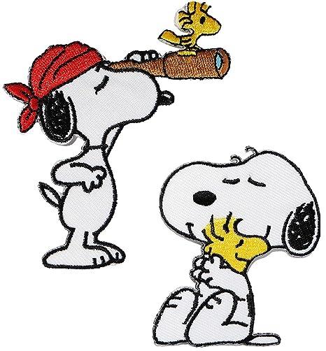 Parche / imágenes planchar – «Snoopy/The Peanuts» – 5,4 cm x 7 cm – aplicación – Parches ...