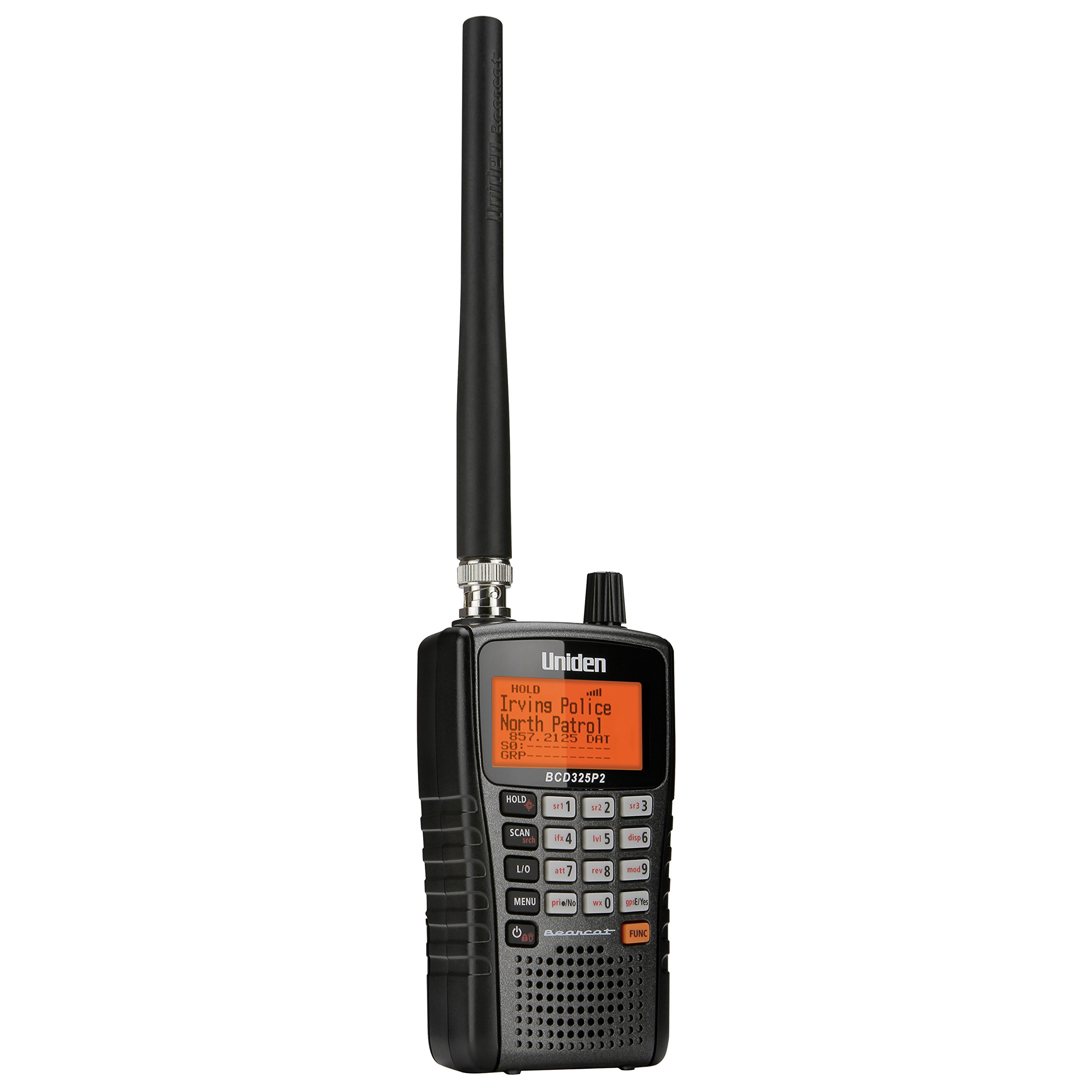 Uniden BCD325P2 Handheld TrunkTracker V Scanner. 25,000 Dynamically Allocated Channels. Close Call RF Capture Technology. Location-Based Scanning and S.A.M.E. Weather Alert. Compact Size. by Uniden (Image #3)
