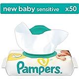 Pampers New Baby Sensitive Feuchttücher, 12er Pack (12 x 50 Stück)