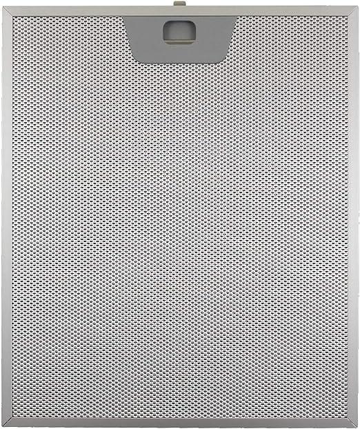 Faber - Filtro para campana extractora de aluminio metálico, 25,5 x 30,0 x 8 mm: Amazon.es: Hogar
