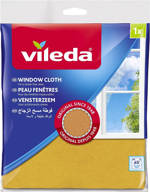 4 x Original Vileda Window /& Glass Cleaning Cloth Clean Streak Free Finish