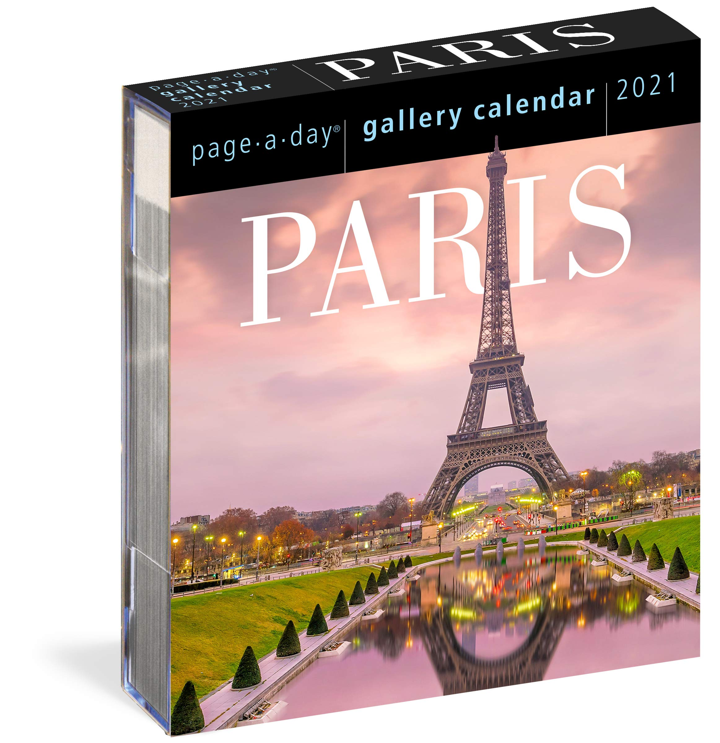 Paris Page A Day Gallery Calendar 2021: Workman Calendars