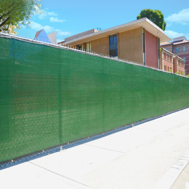 Amazon commercial grade 6 x 50 fence wind privacy screen amazon commercial grade 6 x 50 fence wind privacy screen mesh brass grommets 6x50 patio lawn garden baanklon Images