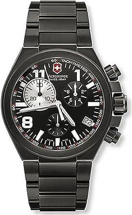 swiss army 241255 42mm black titanium bracelet case mineral swiss army 241255 42mm black titanium bracelet case mineral men s watch