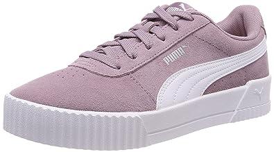 3e1aacc3701c0 Amazon.com   Puma Women's Carina Low-Top Sneakers, violet ...