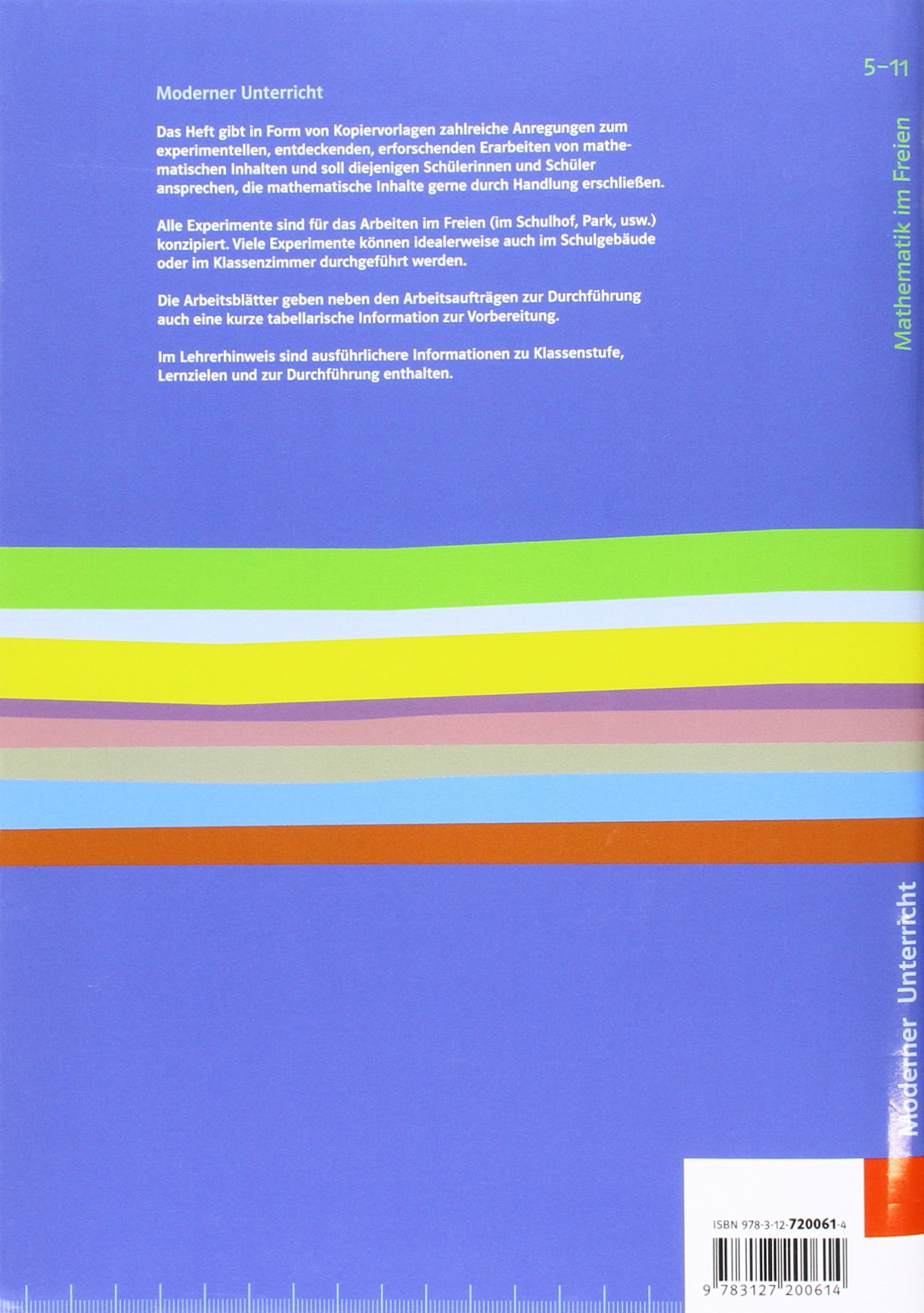 Mathematik im Freien: Kopiervorlagen Klassen 5-11 Moderner ...