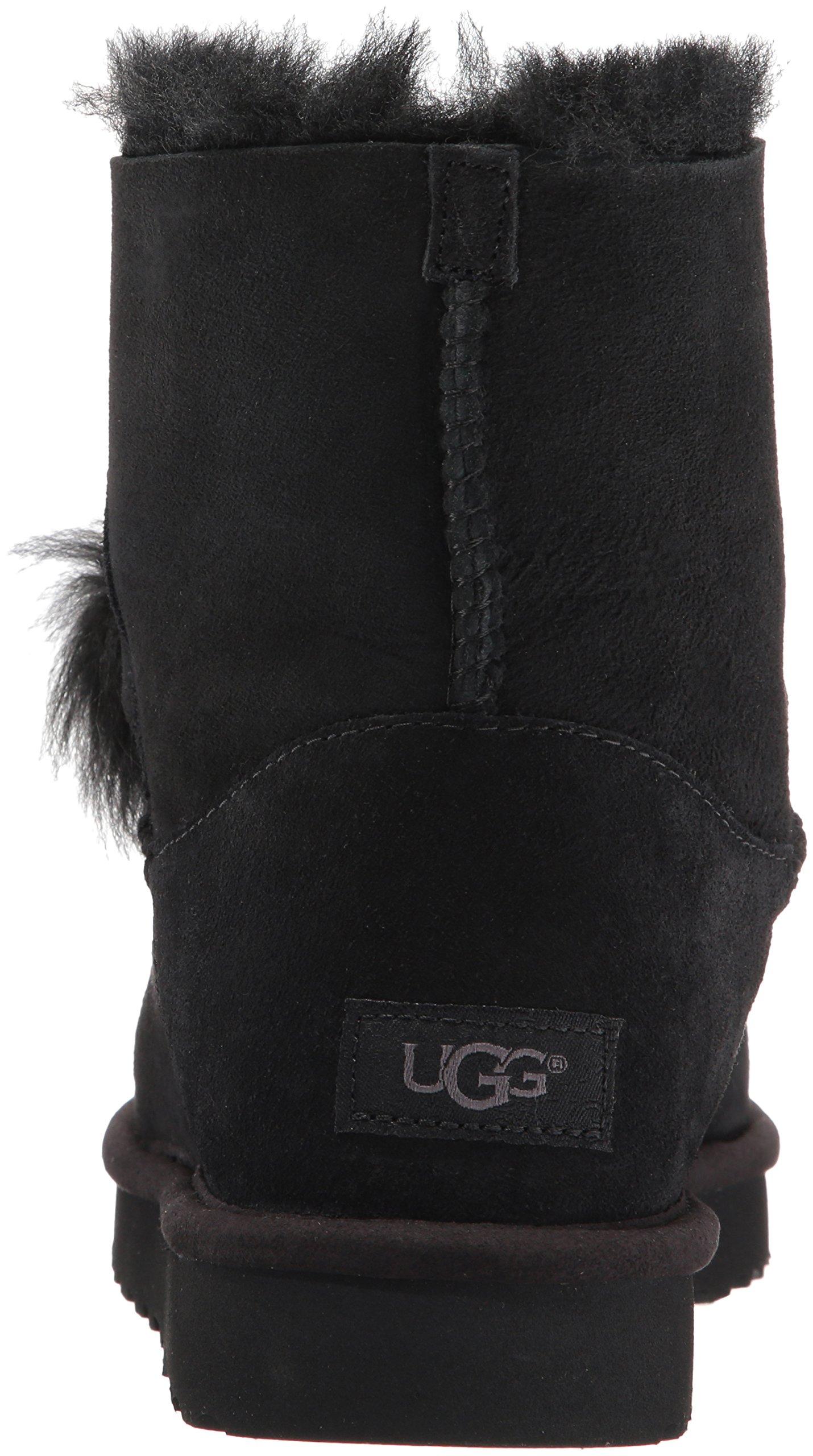 UGG Women's Gita Combat Boot, Black, 8 M US by UGG (Image #2)