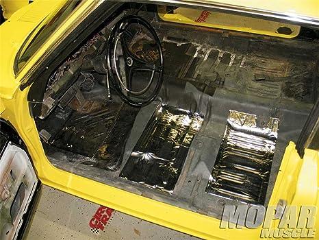 Amazon.com: Hushmat 628021 Sound Thermal Insulation Kit (1994-2004 Chevy Extreme/Sonoma Crew Cab Floor): Automotive