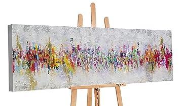 Ys Art Premium Tableau Peinture Acrylique Labstraction Ii Peint