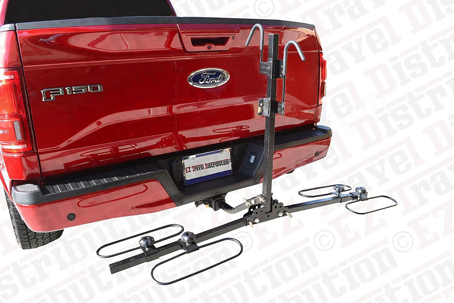 2-Bike Platform Carrier Premium Style (Ratchet Clamp Design) EZ Travel Distribution