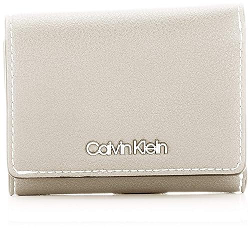 Calvin Klein - Slide Small Wallet, Carteras Mujer, Gris ...